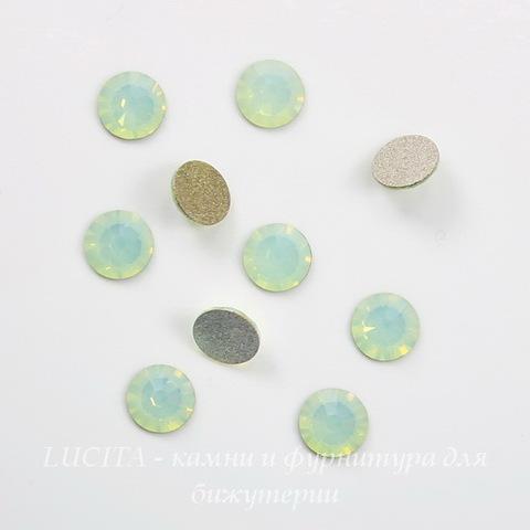 2058 Стразы Сваровски холодной фиксации Chrysolite Opal ss 20 (4,6-4,8 мм), 10 штук ()