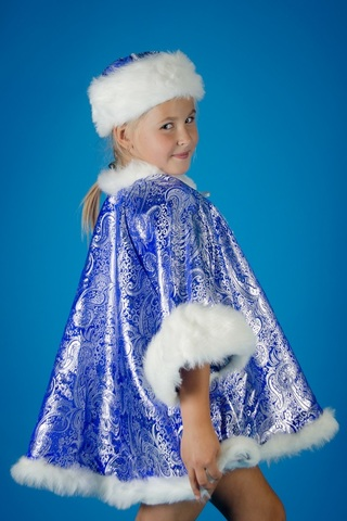 Новогодний костюм Снегурочки 3