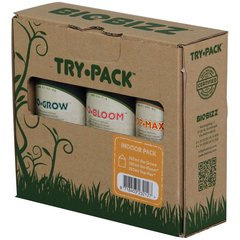 Biobizz indor try pack, 250мл