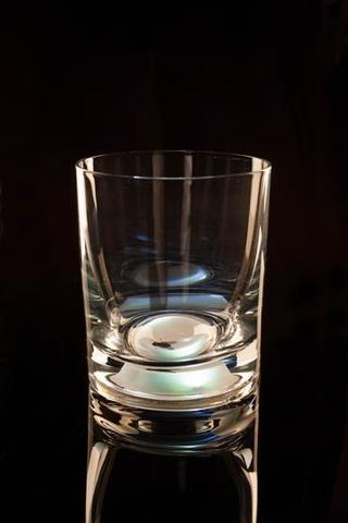 Светящийся стакан для виски GlasShine, белый