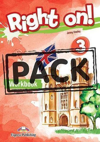 Right on! 3. Workbook (with Digibook app). Рабочая тетрадь (с ссылкой на электронное приложение)
