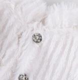 Одежда для малой Зайки Ми Белая шубка