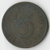 1931 P1974 Эстония 5 сенти