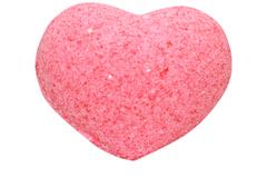 Бурлящее сердечко для ванн розовое (с маслами), 50g ТМ Savonry