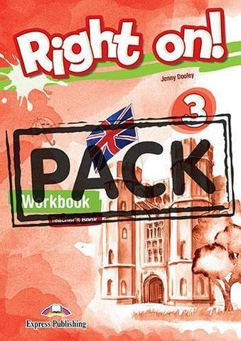 Right On! 3 Workbook Teacher's (with Digibooks App). Рабочая тетрадь для учителя (с ссылкой на электронное приложение)
