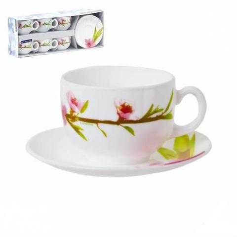 Чайный cервиз Luminarc Water Color 12 предметов (E4904)
