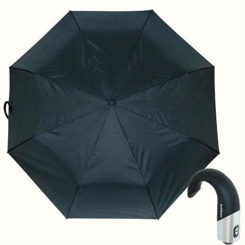 Купить серый зонтик с ручкой крюк Baldinini
