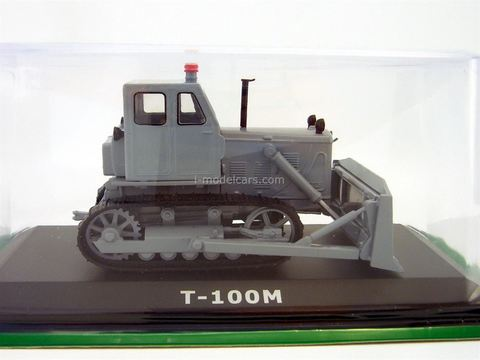 Tractor T-100M Bulldozer 1:43 Hachette #60