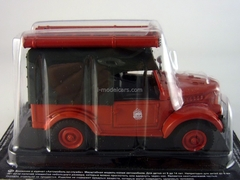 GAZ-69 PMG-20 Fire Engine USSR 1:43 DeAgostini Service Vehicle #3