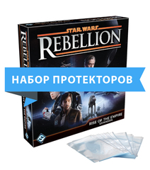 Протекторы для настольной игры Star Wars: Rebellion – Rise of the Empire