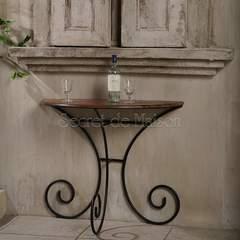 Консольный столик Secret De Maison Люберион (Luberon) (mod 9) — дерево палисандр/металл
