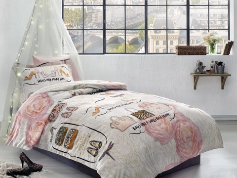Детское постельное белье INNA  1.5сп  deluxe TIVOLYO HOME Турция