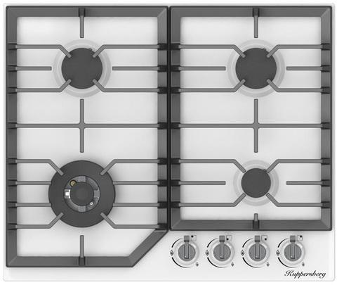 Газовая варочная панель Kuppersberg FS 603 W Silver