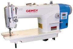 Фото: Одноигольная прямострочная швейная машина Gemsy GEM 8801 E-H