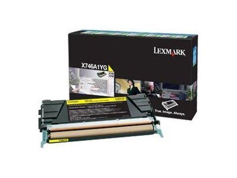 Картридж для принтеров Lexmark C746dn/C746dtn/C746n/C748de/C748dte/C748e желтый (yellow). Ресурс 7000 стр (C746A3YG)