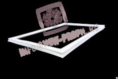 Уплотнитель  35*57 см для холодильника Индезит R27G (морозильная камера) Профиль 022