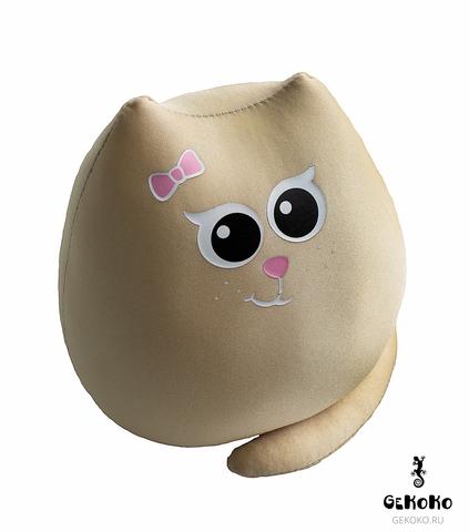 Подушка-игрушка антистресс «Кошечка Золотко» 3
