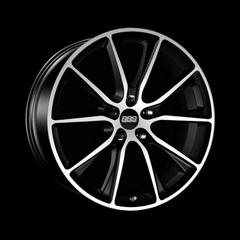 Диск колесный BBS SV 10.5x22 5x120 ET40 CB82.0 satin black/diamond cut