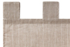 Шторы на петлях льняные 2шт Luxberry Timeless серые в полоску