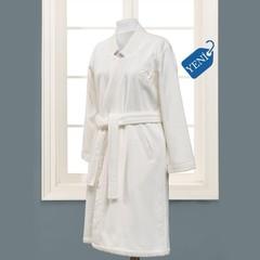 ELIZA KIMONO крем махровый женский халат Soft Cotton (Турция)