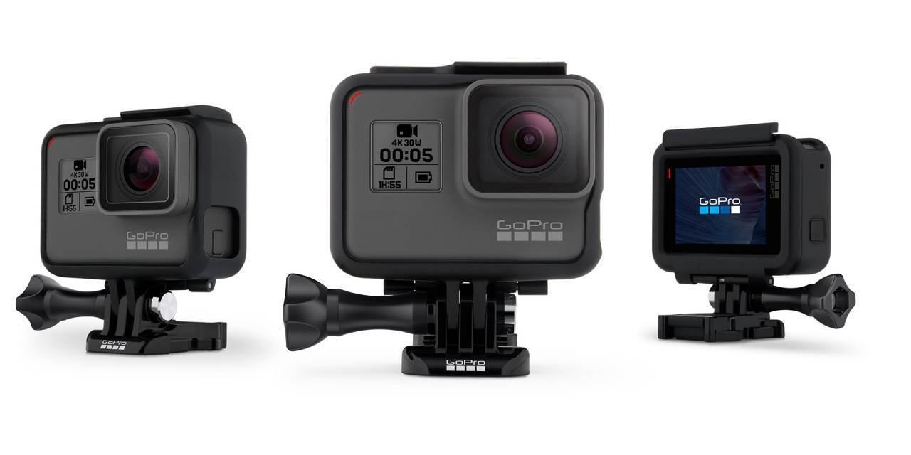 Крепление-рамка GoPro The Frame (AAFRM-001) + камера с разных сторон