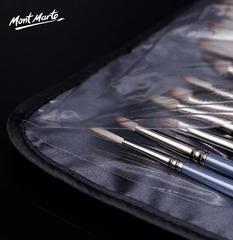 Набор из 15 кистей из щетины и синтетики в пенале Mont Marte