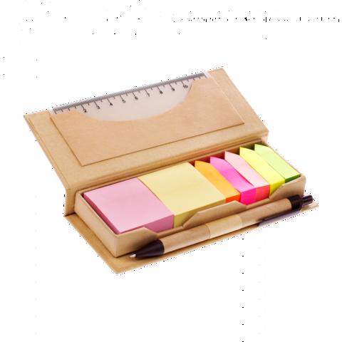 Пенал из крафт-бумаги с канцелярскими принадлежностями, Lejoys, Tree, 160х68
