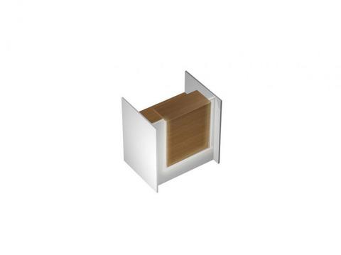 Profiquadro cтойка reception с вырезом и подсветкой прямая
