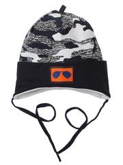 10056-2 шапка для мальчиков, черная