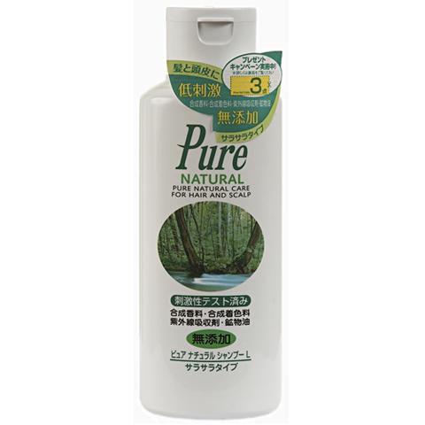 MOLTOBENE Шампунь для ухода за чувствительной кожей головы на основе Зеленого чая, лечебных трав и масел (объем) Pure Natural L