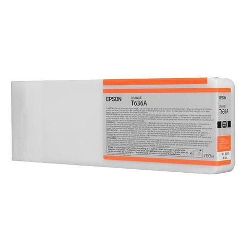 Картридж Epson C13T636A00 оранжевый 700 мл для Epson Stylus Pro 7900/9900