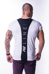 Мужская футболка NB Muscle Back 728 white