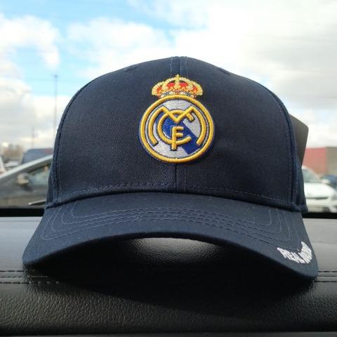 Кепка Реал Мадрид синяя (Real Madrid)