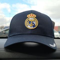 Кепка Реал Мадрид синяя (Бейсболка Real Madrid)