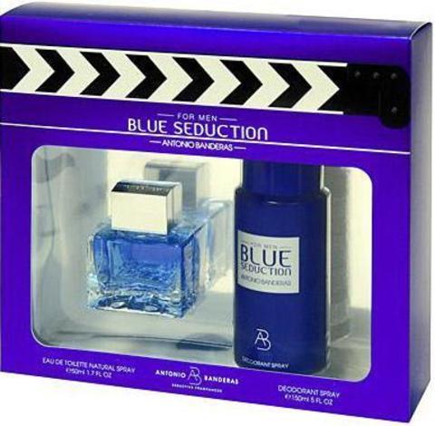 Antonio Banderas Blue Seduction SET (EDT 100 ml + DEO 150 ml)