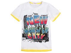 702-16 футболка детская, белая