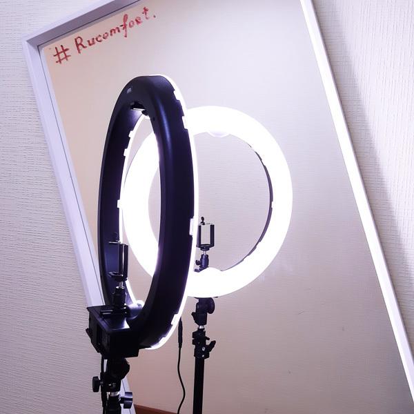 Кольцевые лампы Кольцевая лампа LED RING 240 Battery LED-RING-240-Battery.jpg