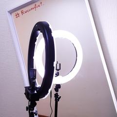Кольцевая лампа LED RING 240 Battery