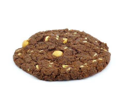 Печенье шоколадное с белым шок.и фунд. 50 г(вл.40)