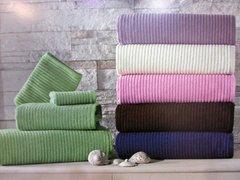 Набор полотенец RIVER - РИВЕР 30х50 50х100 и 78х150  Maison Dor (Турция)