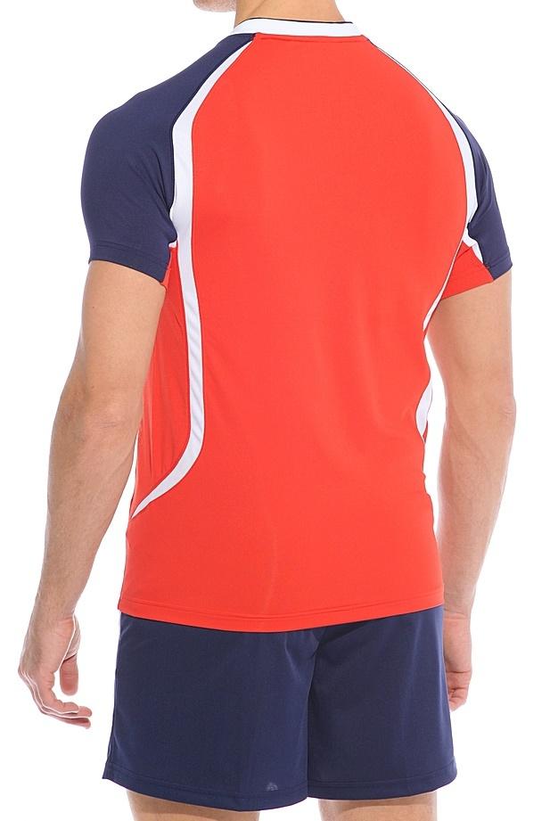 Мужская волейбольная форма асикс Set Tiger Man red (T228Z1 2650)