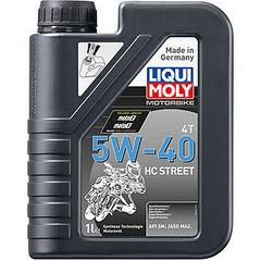 НС-синтетическое моторное масло для 4-тактных мотоциклов Motorbike 4T HC Street 5W-40 Артикул: 20750