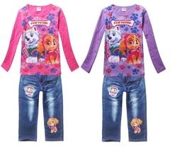 Щенячий патруль комплект футболка и джинсы для девочки
