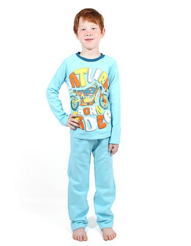Basia М848 Пижама с начесом для мальчика