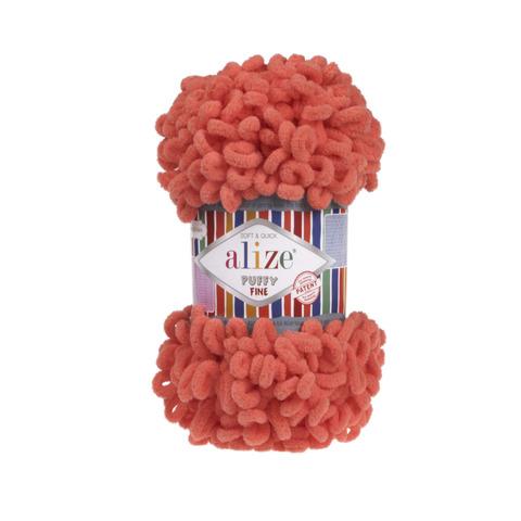 Купить Пряжа Ализе Пуффи Файн Код цвета 526 | Интернет-магазин пряжи «Пряха»