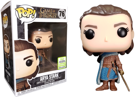 Arya Stark Game of Thrones Funko Pop! Vinyl Figure 2019 Spring Convention Limited Edition Exlusive|| Арья Старк. Игра Престолов