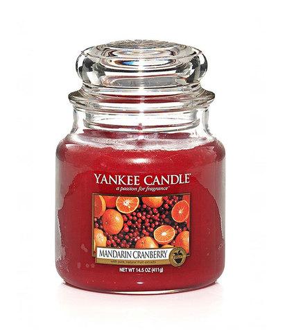 Ароматическая свеча Мандарин и клюква, Yankee Candle