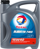 Total 7400 Rubia TIR 15W-40 – Минеральное моторное масло для грузовых автомобилей
