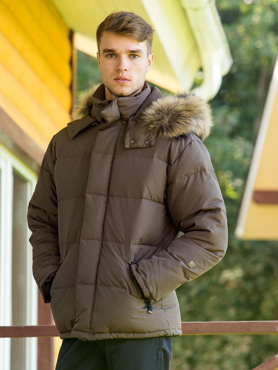 Joutsen пуховик Frost Fur нутрия - Фото 1