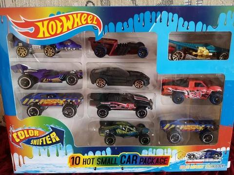 Набор из 10 машинок  (Хот Вилс | Hot Wheels)
